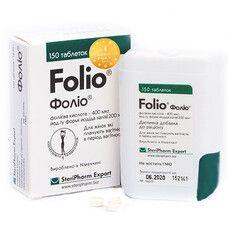 Фолио для беременных и кормящих женщин таблетки №150 - Фото
