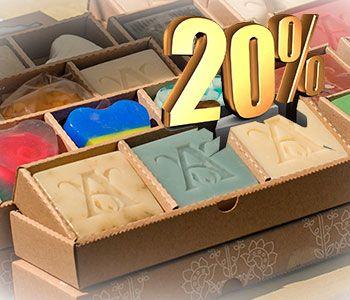 Скидка 20% на продукцию для ванны и душа Amarante