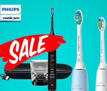Знижки: Зубні щітки Philips