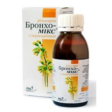Бронхо-Микс на основе меда с плющем фитосироп 100 мл - Фото