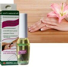 Косметическое масло Здоровые ногти 10 мл - Фото