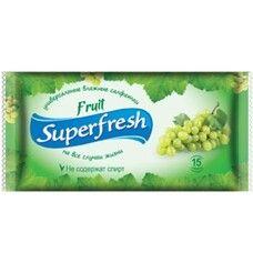 Салфетки влажные Super Fresh Fruit №15