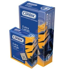 Презервативы ТМ Контекс / Contex Extra Large №3