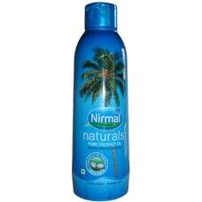 Кокосовое масло пищевое KLF Nirmal 200мл