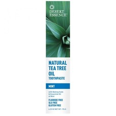 Зубная паста натуральная с маслом чайного дерева - Мята ТМ Дессерт Эссенс / Dessert Essence 176мл
