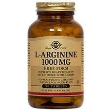 Витамины Солгар L-Аргинин 1000 мг капсулы №90 - Фото