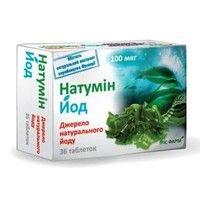 Натумин Йод 100мкг таблетки №36