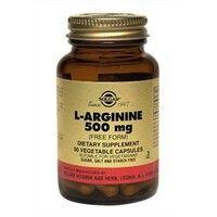 L-Аргинин 500мг капсулы №50, Солгар / Solgar ®