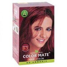 Хна краска натуральная Color Mate Burgundy 75г (бургундия)