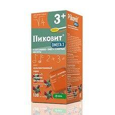Пиковит Омега 3 сироп 130мл