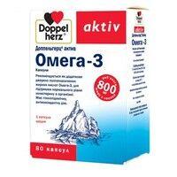 Доппельгерц витамины Омега-3 капсулы №80 - Фото
