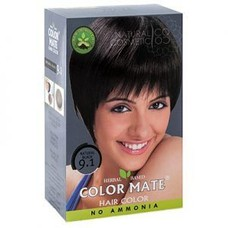 Хна краска натуральная Color Mate Natural Black 75г (натуральный чёрный)