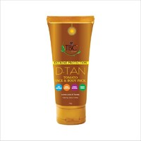 Солнцезащитная маска для лица и тела Extreme Protection D-Tan Tomato Face & Body Pack 100 мл