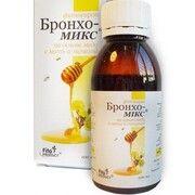 Бронхо-Мікс на основі меду з мати-мачухою фітосироп 100 мл - Фото