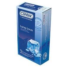 Презервативы ТМ Контекс / Contex Long Love с анестетиком №12
