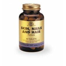 Таблетки для кожи, ногтей, волос №60, Солгар / Solgar®