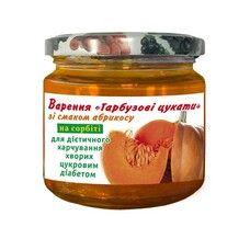 Варенье Тыквы цукаты со вкусом абрикоса на сорбите 200г