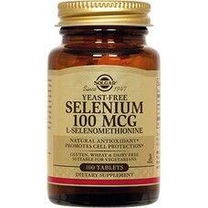 Селен таблетки Solgar 100 мкг №100 - Фото