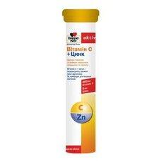 Доппельгерц Витамин С+Цинк таблетки шипучие №15 - Фото