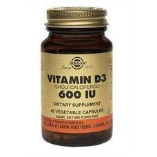 Витамин Д3 Solgar 600 МЕ капсулы №60 - Фото