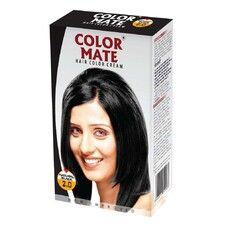 Крем-Краска Color Mate Hair Color Cream - Natural Black (Черный) 60мл+60мл+10мл