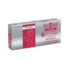 Тест-полоска для определения беременности на ранних сроках Сенситив ТМ Тест Фор Бест/Test for Best №2