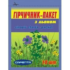 Горчичник-пакет со льном №10