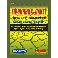 Горчичник-пакет горчично-грязевой №10