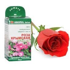 Эфирное масло Роза крымская 5 мл - Фото