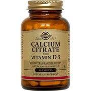 Цитрат кальция с витамином Д3 Solgar таблетки №60 - Фото