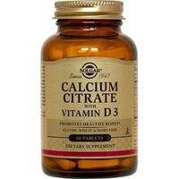 Цитрат кальция с витамином Д3 Solgar таблетки №60