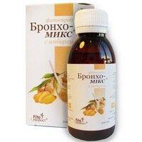 Бронхо-Микс с имбирем фитосироп 100 мл - Фото