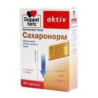 Доппельгерц витамины для диабетиков Сахаронорм капсул №30