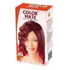 Крем-Краска Color Mate Hair Color Cream - Copper Red (Медный) 60мл+60мл+10мл