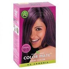 Хна краска натуральная Color Mate Mahogany 75г (махагон)