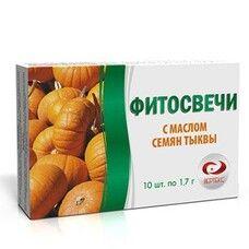 Фитосвечи с маслом семян тыквы №10