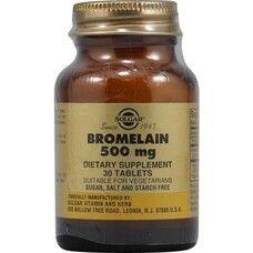 Бромелайн Солгар 500 мг таблетки №30 - Фото