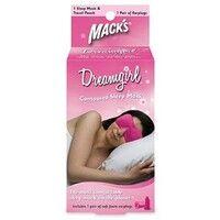 Маска для сна розовая с берушами + дорожный мешок - Фото