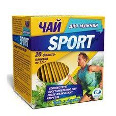 Чай Спорт для мужчин фильтр-пакет 1,5г №20