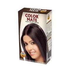 Крем-Краска Color Mate Hair Color Cream - Dark Brown (Тёмно-коричневый) 60мл+60мл+10мл