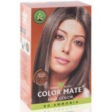 Хна краска натуральная Color Mate Natural Brown 75г (натуральный коричневый)