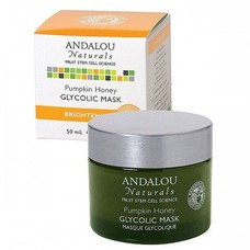 Маска для лица с тыквой и гликолиевой кислотой ТМ Андалу Натуралс/Andalou Naturals 50мл