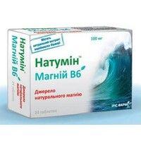 Натумин Магний В6 таблетки №24 - Фото
