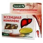 Есенціалкомплекс капсули 0,5 г №60 - Фото