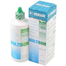 Мультисон / Multison многоцелевой раствор для линз 240мл