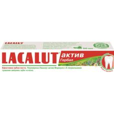Лакалут Актив Гербал зубная паста 50мл