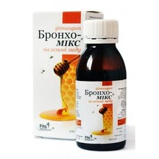 Бронхо-Микс на основе меда фитосироп 100 мл - Фото