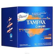 Тампоны ТМ Тампакс / Tampax Compak Super Plus №16