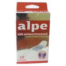 Пластырь прозрачный антибактериальный с ионами серебра классик ТМ Алпе / Alpe №10