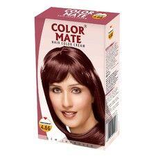 Крем-Краска Color Mate Hair Color Cream - Mahogany (Махагони) 60мл+60мл+10мл